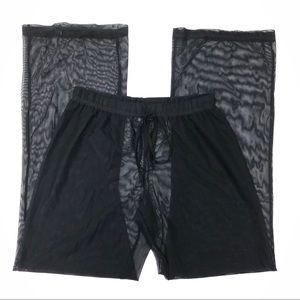 Swim N Sport Sheer High Waist Beach Cover Up Pants